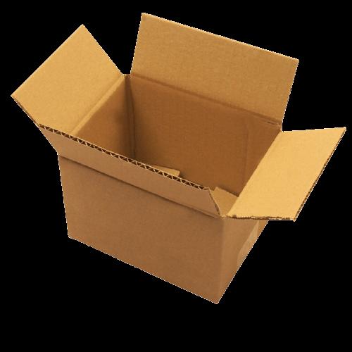 Carton simple cannelure 16 x 12 x 11 cm
