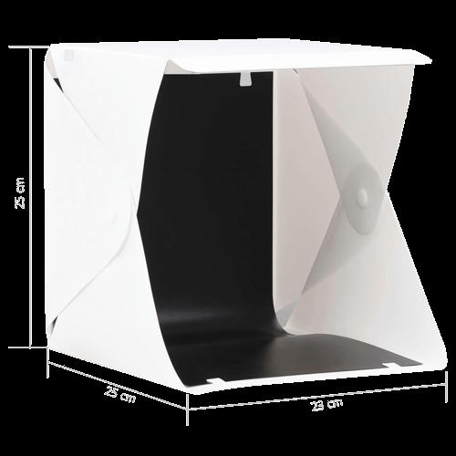 Taille studio photo portable
